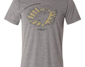 PRE-ORDER: Faurot Field Stipple Drawing Tee