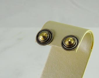 Sterling Stud Earrings Pierced