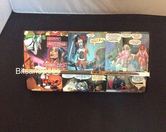 Harley Quinn Custom Bagk dc universe rebirth