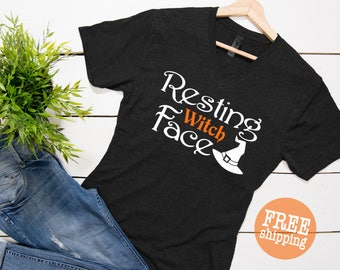 Resting Witch Face, Resting Witch Face shirt, Halloween Shirt, Funny Halloween Shirts, Trick or Treat,