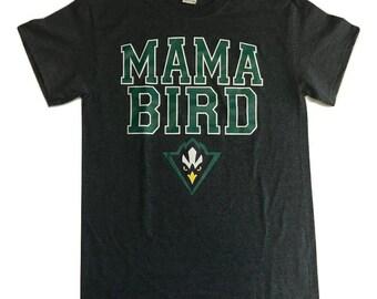 UNCW Mama Bird – T shirt – Dark heather