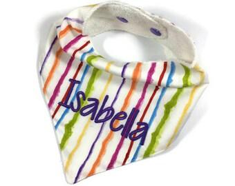 Bibdana, Bandana Bib, Drool Bib, Dribble Bib, Baby Bandana, Baby Bandana Bib, Teething Bib, Trendy Baby, Personalized Baby Bib, Cotton Bib