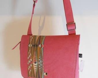 Bag shoulder setting in alcantara, model Stella, unique, made in France