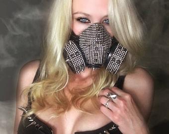 Rave Mask, Burning Man Mask, Dust Mask, Burning Man Clothing, Gas Mask, Burning Man Dust Mask, Festival Clothing, Burning Man Costume