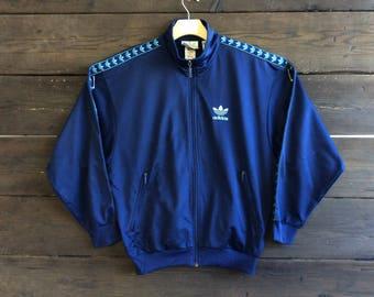 Vintage 80s Adidas Track Jacket