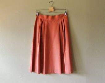Lovely Vintage JC Penney Fashions Pleated Skirt