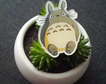 Ring adjustable 45 mm kawaii Japanese cartoon resin totoro anime