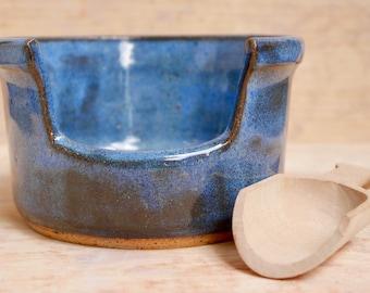 Blue Ceramic Salt dish