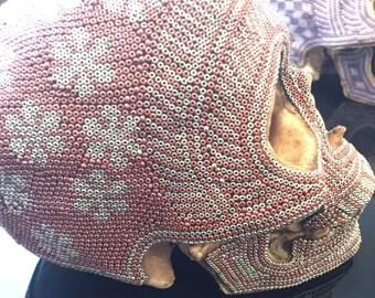 Artisian Huichol Skull