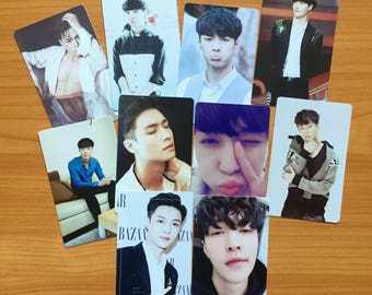 EXO Lay Yixing Photo Cards   Free Shipping