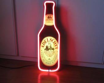 Neon beer. Laukyo years ' 80