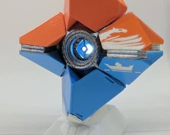 Destiny 2 ghost Kill-tracker shell. Small Modular toy and led eye.