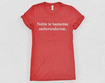 Nolite te bastardes carborundorum | The Handmaid's Tale - Feminist Shirt
