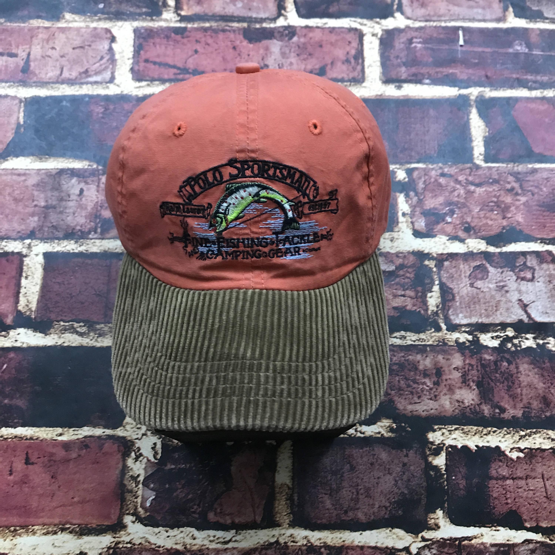 6644da0dc75 Vintage Polo Sportsman Cap Polo Sportsman Hat Polo Sport Hat Polo Ralph  Lauren Fishing Hat Ball