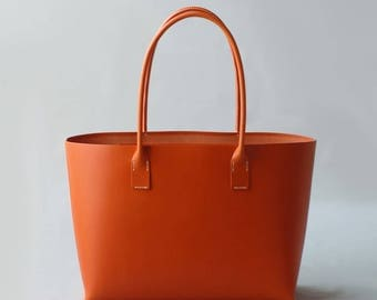 leather tote bag type 2