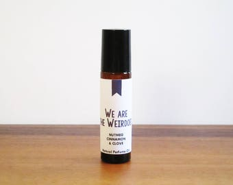 WE ARE the WEIRDOES / Nutmeg Cinnamon & Clove / Tv Inspired / The Craft Collection / Roll-On Perfume Oil