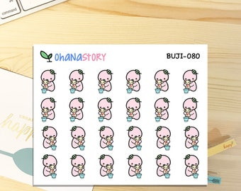 BUJI-080 | Potty Training | Hand-drawn Planner Stickers
