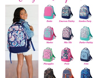 Monogram Backpack, Personalized Backpack, Monogram Bookbag, Girls Backpack, Pink Backpack, Kids Backpack, School Backpack, Camo Backpack