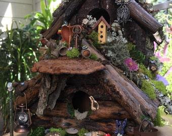 The Hermit Fairy's Hideaway, fairy house