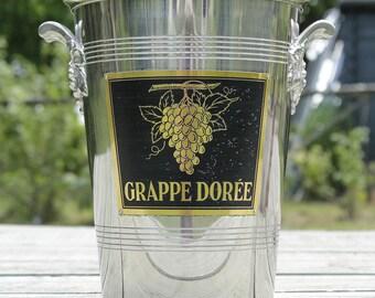 A tall wine/champagne cooler GRAPPE DORÈE