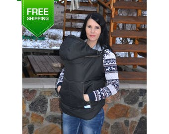 winter babycarrier cover babywearing coat extender baby carrier cover toddler carrier cover - Carrier Cover