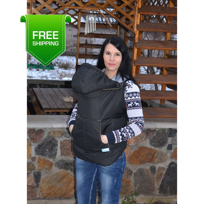 Winter Babycarrier Cover Babywearing Coat Extender Baby