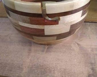 """9"""" Segmented Yarn Bowl"""