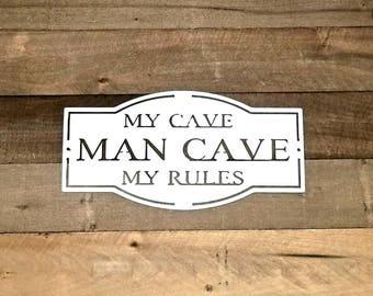 Man Caves Ni : We don't call 911 man cave decor garage gun
