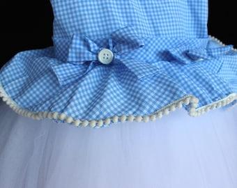 Dorothy Costume, Dorothy Dress, Girls Wizard Of Oz Costume, Dorothy Tutu Dress, Wizard Of Oz Dress, Baby Dorothy Costume, Baby Dorothy Dress