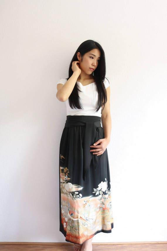 Japanese Kimono Skirt