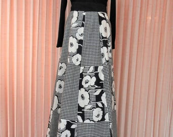 60's/70's Wrap Maxi Skirt by Mr. Hank