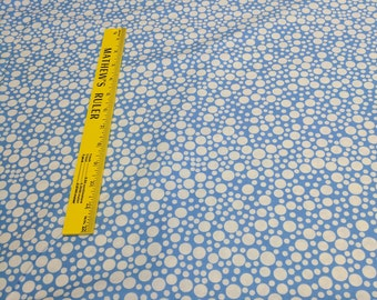 Play Dot-Blue Cotton Fabric from Michael Miller Fabrics