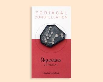 pin the Zodiac constellation - Aquarius