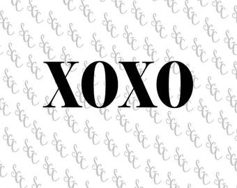 Reusable Stencil - XOXO Kisses & Hugs - Many Sizes to Choose from!