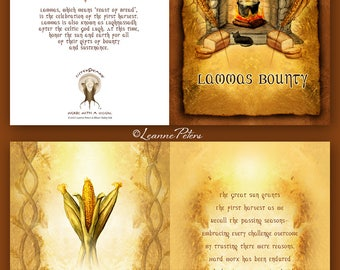 Lammas - High Holiday - Sabbat Card - First Harvest