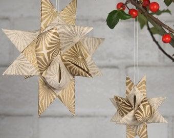 Gold Starburst Hygge Star