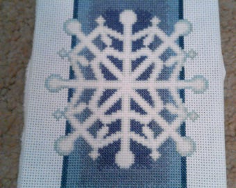 Completed CrossStitch - Snowflake