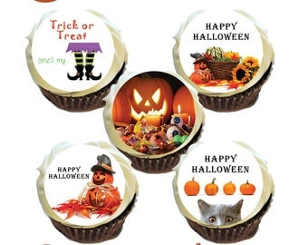 Halloween Edible Images for Cupcakes, Cookies and Oreos!!