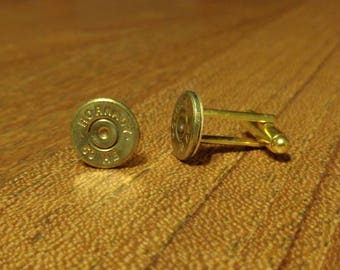 Bullet Jewelry- 50 Caliber Brass Bullet Cuff Links