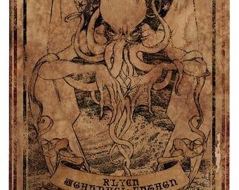 Cthulhu lifesize banner, Necronomicon