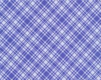 Sausalito Cottage Tonal Plaid Cornflower by Holly Holderman for LakeHouse DryGoods LH13062 By the yard