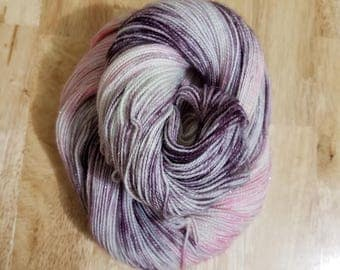 Be My Valentine, Hand Dyed Yarn, Sock Yarn, Merino, Nylon, Dye to Order, Valentines