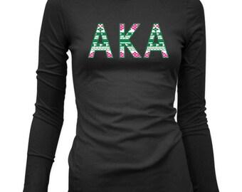 Alpha Kappa Alpha Holiday AKA Long Sleeve
