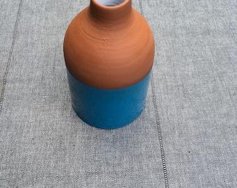 Small bottle mignonnette terracotta
