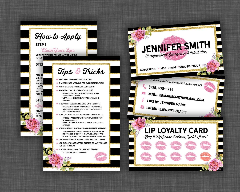 Ideal Lipsense Business Card Bundle, Lipsense Business Bundle, Lipsense  UP91