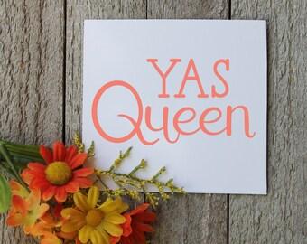 Yas Queen Vinyl Decal