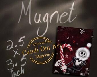 Magnet Jack Skellington The Nightmare Before Christmas Sally Zero Tim Burton Dr. Finkelstein
