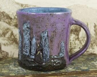 Standing Stones Mug, Outlander-inspired ceramic