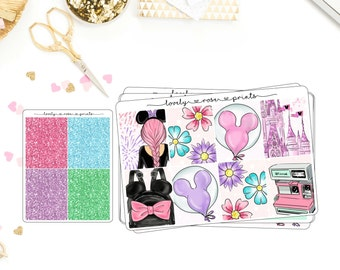 Disney EC Vertical Weekly Kit