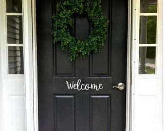Decal | Welcome Door Decal